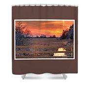 Madison Sunset Shower Curtain