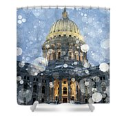 Madisonian Winter Shower Curtain