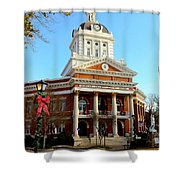 Madison's Morgan County Courthouse Shower Curtain