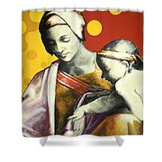 Madona Shower Curtain