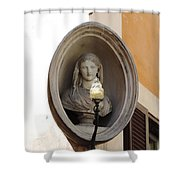 Madonna Watches Shower Curtain