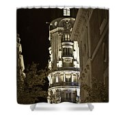 Madrid At Night Shower Curtain