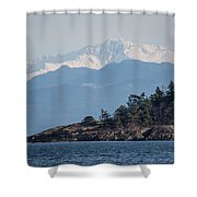 Madrona In December Shower Curtain