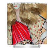 Mag Mad3 Shower Curtain