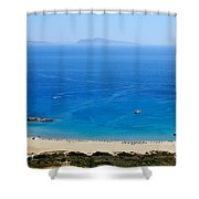 Maganari Beach Shower Curtain