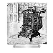 Magazine Stove, 1880 Shower Curtain