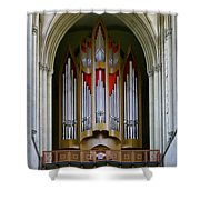 Magdeburg Cathedral Organ Shower Curtain