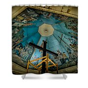 Magellans Cross Shower Curtain