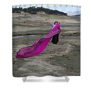 Magenta Madness Shower Curtain