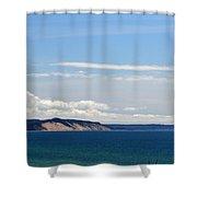 Magestic Bluffs Shower Curtain