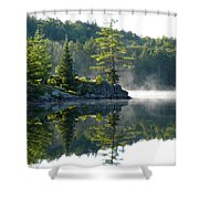 Maggie Lake 1 Shower Curtain
