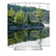Maggie Lake 2 Shower Curtain