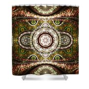 Magic Carpet Shower Curtain