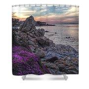 Magic Carpet In Pacific Grove Shower Curtain