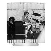 Magic Dick And J. Geils In Oakland 1976 Shower Curtain