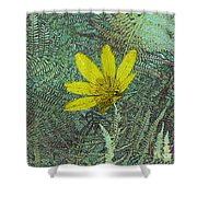 Magic Fern Flower 01 Shower Curtain