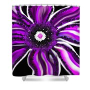 Magic Flower Shower Curtain