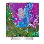 Magic Is All Around Shower Curtain by The Art With A Heart By Charlotte Phillips