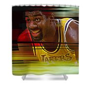 Magic Johnson Shower Curtain