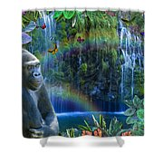 Magic Jungle Shower Curtain