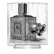Magic Lantern, 1891 Shower Curtain