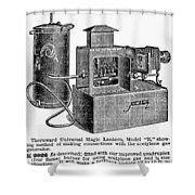Magic Lantern, 1900 Shower Curtain