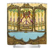 Magic Mirror - Cake  Shower Curtain