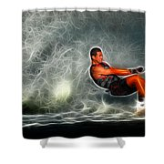 Water Skiing Magical Waters 2 Shower Curtain