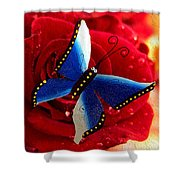 Magic On The Wall Shower Curtain