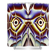 Magic Owl Shower Curtain