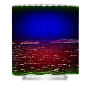 Can You See This Magic Seascape Or Is It Only Me  Shower Curtain