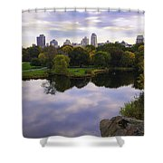Magical 1 - Central Park - New York Shower Curtain