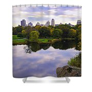 Magical 2 - Central Park - Nyc Shower Curtain