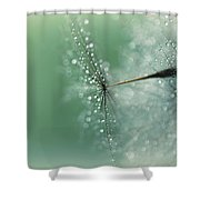 Magical Bokeh Shower Curtain