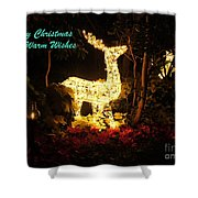Magical Christmas Shower Curtain