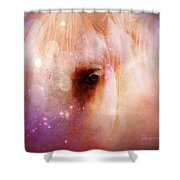Magical Horse - Featured In 'comfortable Art Group' Shower Curtain