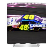 Magical Jimmy Johnson  Shower Curtain