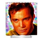 Magical Kirk Shower Curtain