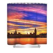 Magical London Shower Curtain