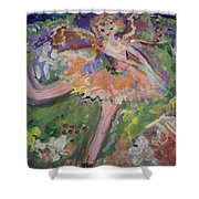 Magical Maggie The Fairy Shower Curtain