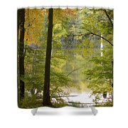Magical Maplewood Shower Curtain