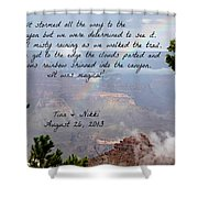 Magical Moments Shower Curtain