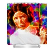 Magical Princess Leia Shower Curtain