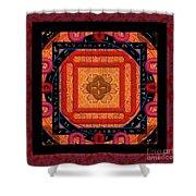Magical Rune Mandala Shower Curtain