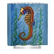 Magical Seahorse Shower Curtain