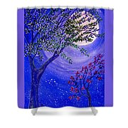 Magical Spring Shower Curtain