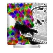 Magical Storm Trooper Shower Curtain