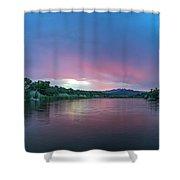 Magical Sunrise Shower Curtain