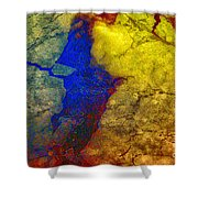 Magical Yellow 3 Shower Curtain