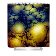 Magical Yellow 5 Shower Curtain